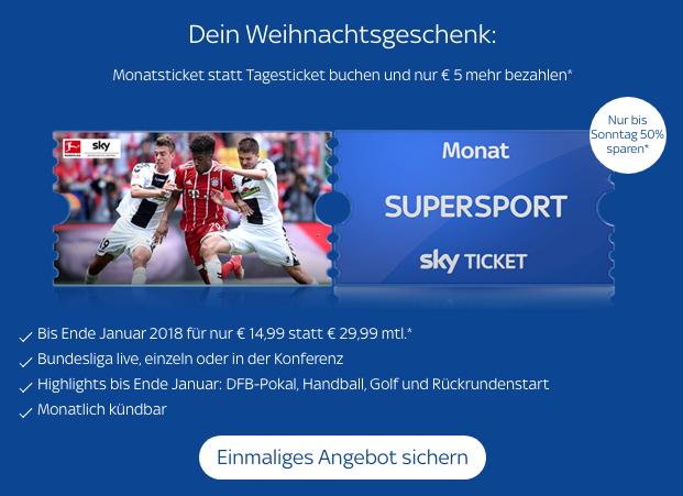Das aktuell günstigste Angebot von Sky Supersport Ticket